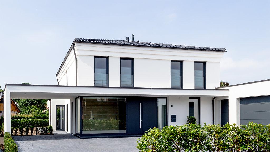 Moderne Stadtvilla in Glandorf