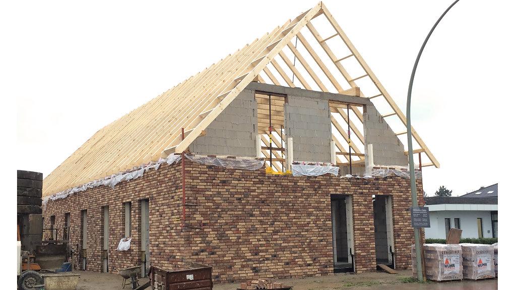 Doppelhaus - Baufortschritt