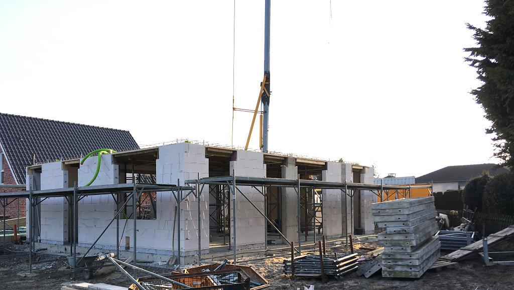 Baustellenfortschritt - Rohbau