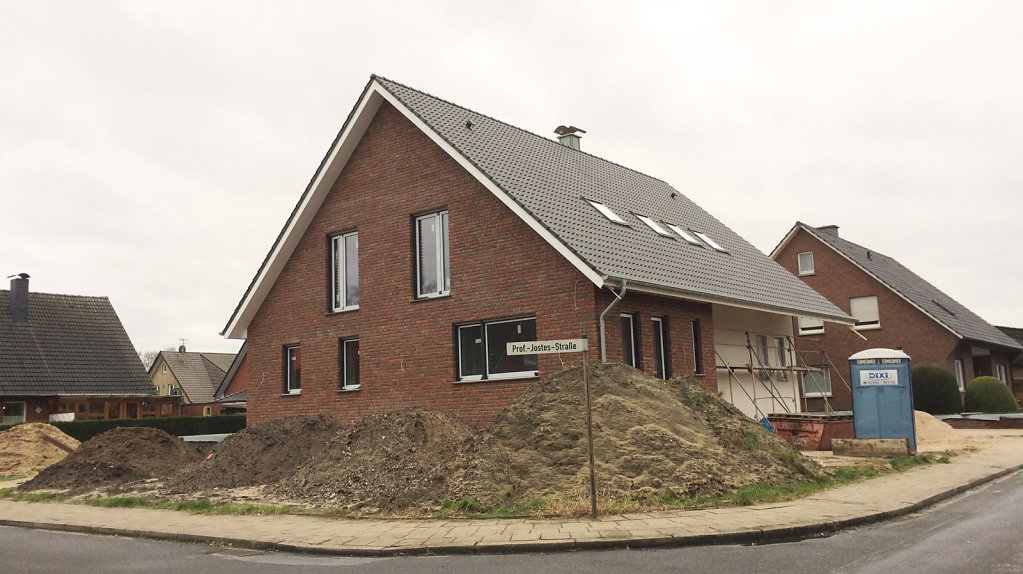 12.2017 - Baufortschritt Einfamilienhaus