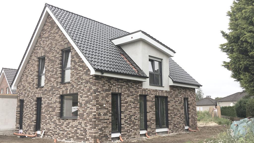 07.2018 - Baufortschritt eines Einfamilienhauses