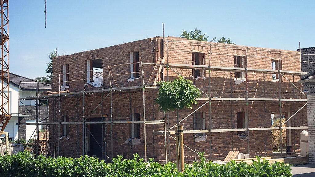 Stadtvilla - Baufortschritt