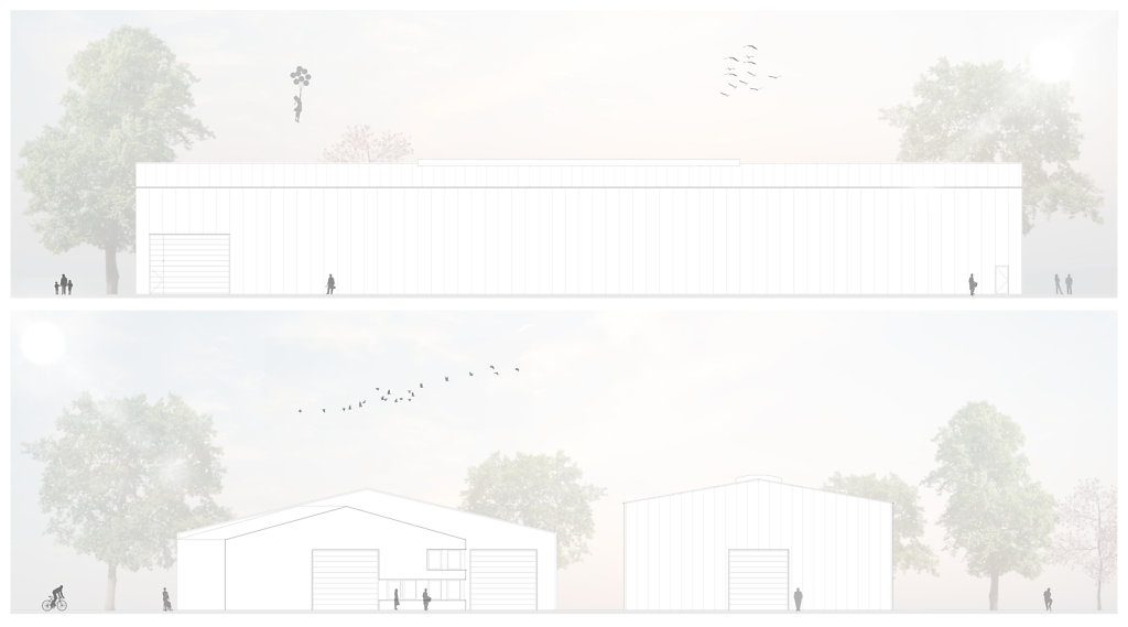 12.2018 Planung einer Lagerhalle in Altenberge