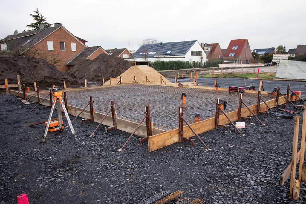 01.2020 Baubeginn in Münster