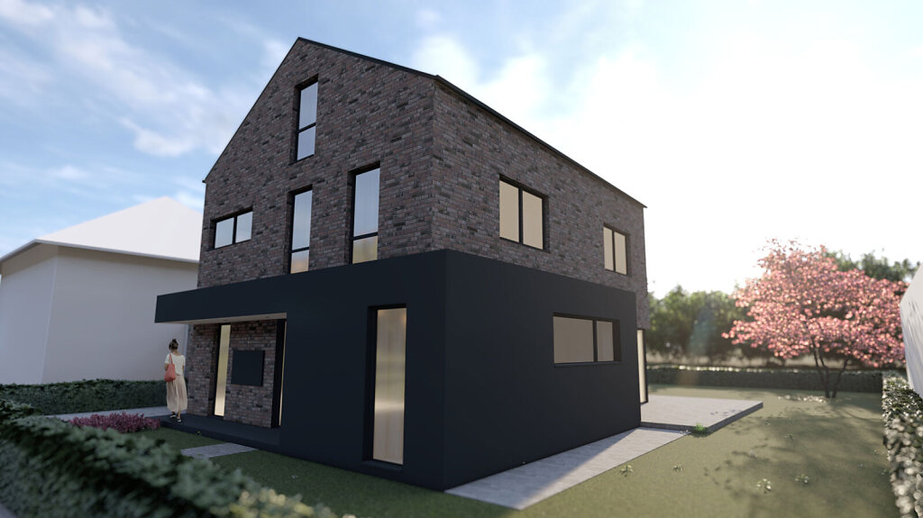 Einfamilienhaus - Vorbau