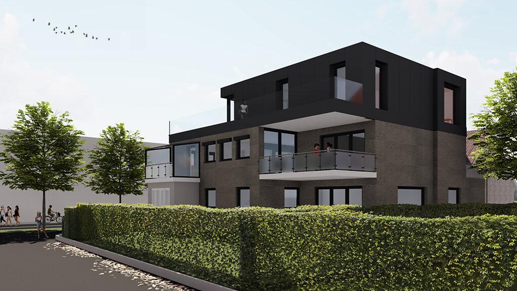 Haus S - Gartenpersepektive - Variante 1