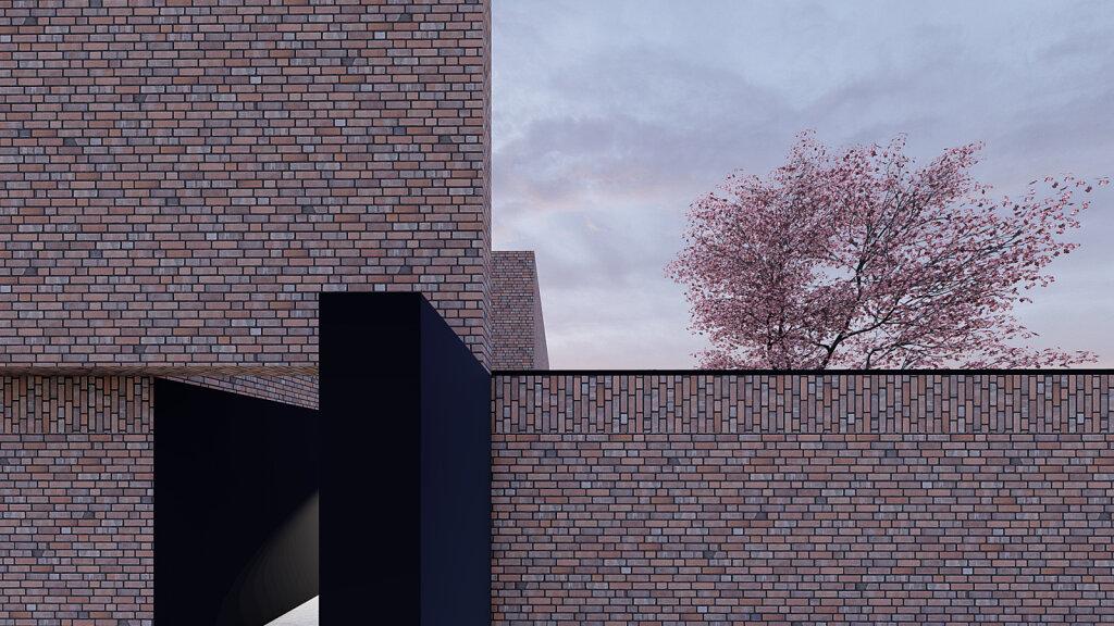 Villa S - Detail Fassade