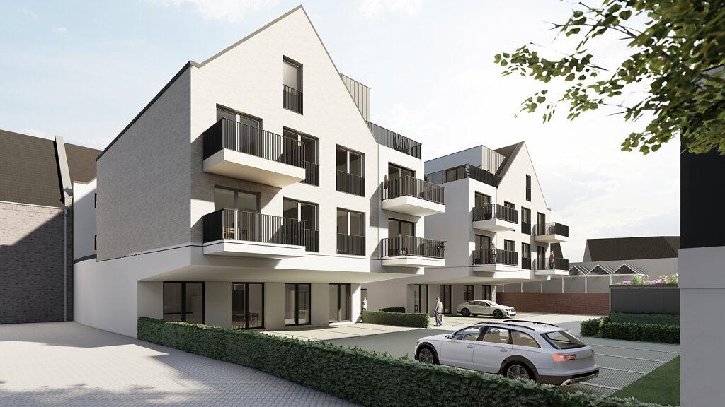 Wohn- und Geschäftshaus - Ansicht Hinterhof